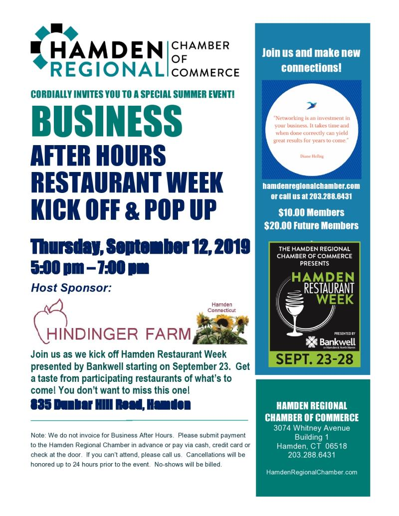 Business After Hours - Hindinger Farm